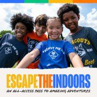 Fall Recruitment social media image - Escape the Indoors - selfie